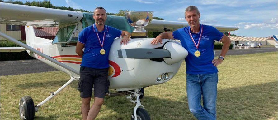 Doublés au championnat de France de Rallye aérien